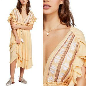 NWT Free People Will Wait For You Midi Dress